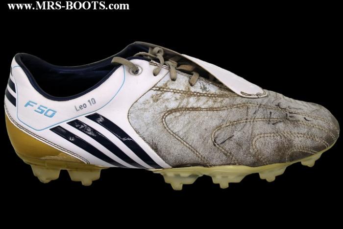 Messi Adidas F50 Scarpe Boots Worn Match Lionel Botas k8PXnwO0