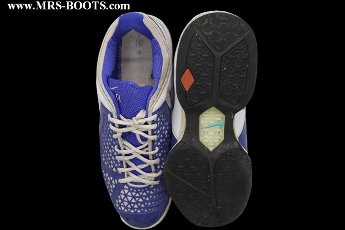 Rafael Nadal Match Worn Shoes Sneakers Madrid Open 2008
