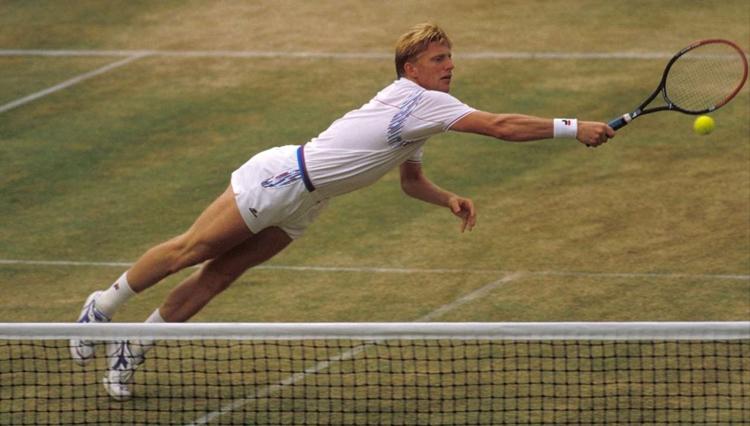 Boris Becker - Puma racquet
